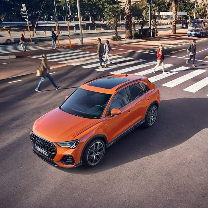 Convenience and safety. The new Audi Q3